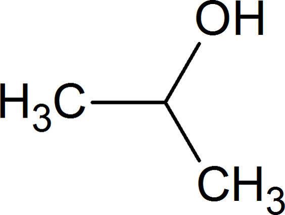 Aldehyde und Ketone: Struktur iso-Propanol