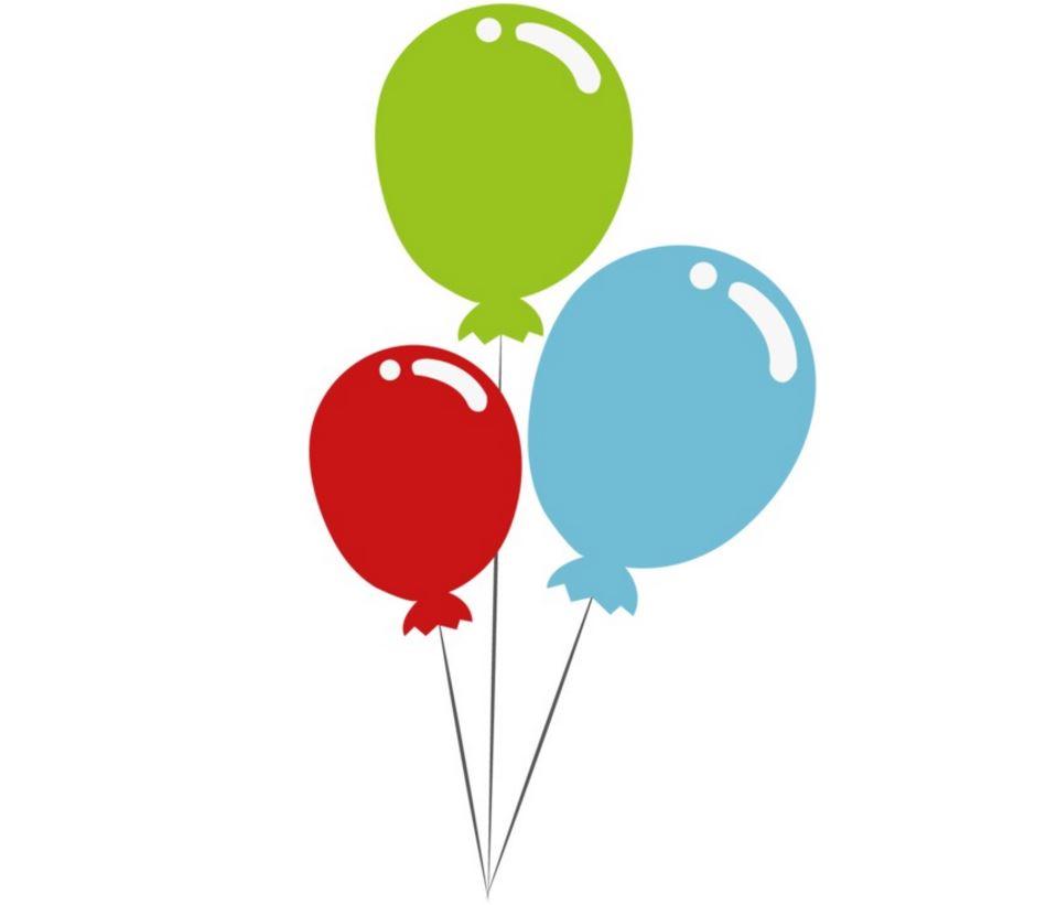 Wasser und Wasserstoff: Ballons