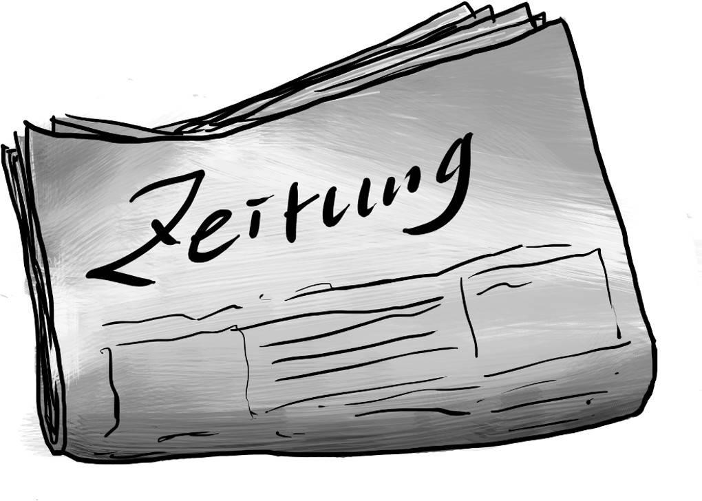 Konjunktiv: Anwendung Zeitung