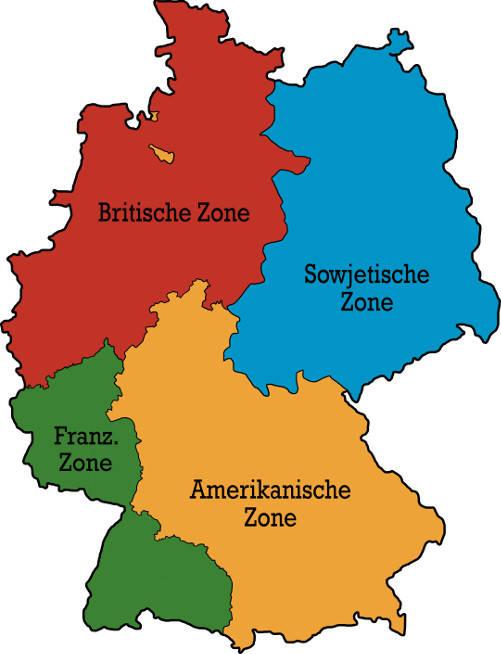 Deutschlands Besatzungszonen