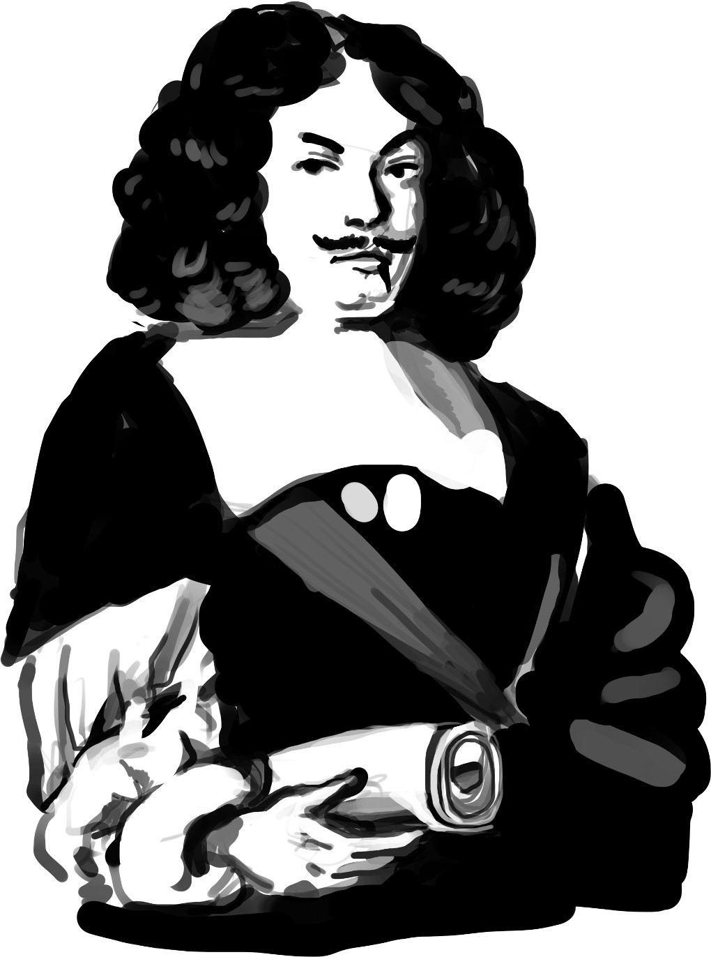 Portrait von Andreas Gryphius