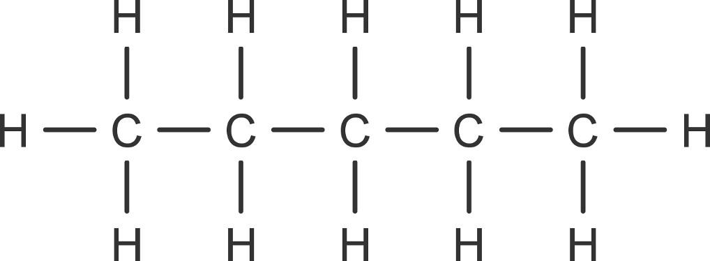 Kohlenwasserstoff Pentan