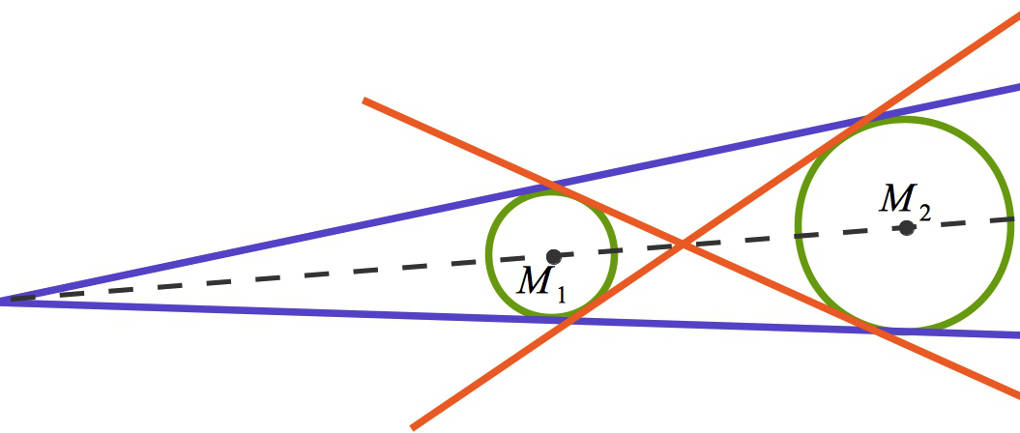 Kreise, Kreisfiguren und Tangenten an Kreisen konstruieren online lernen