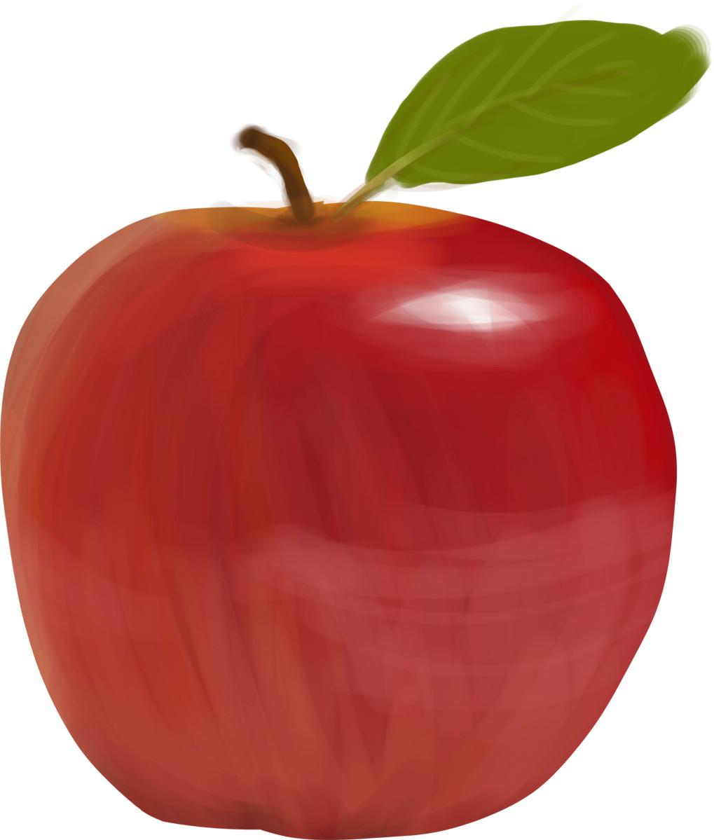 une petite pomme