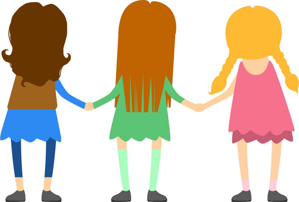 les trois copines