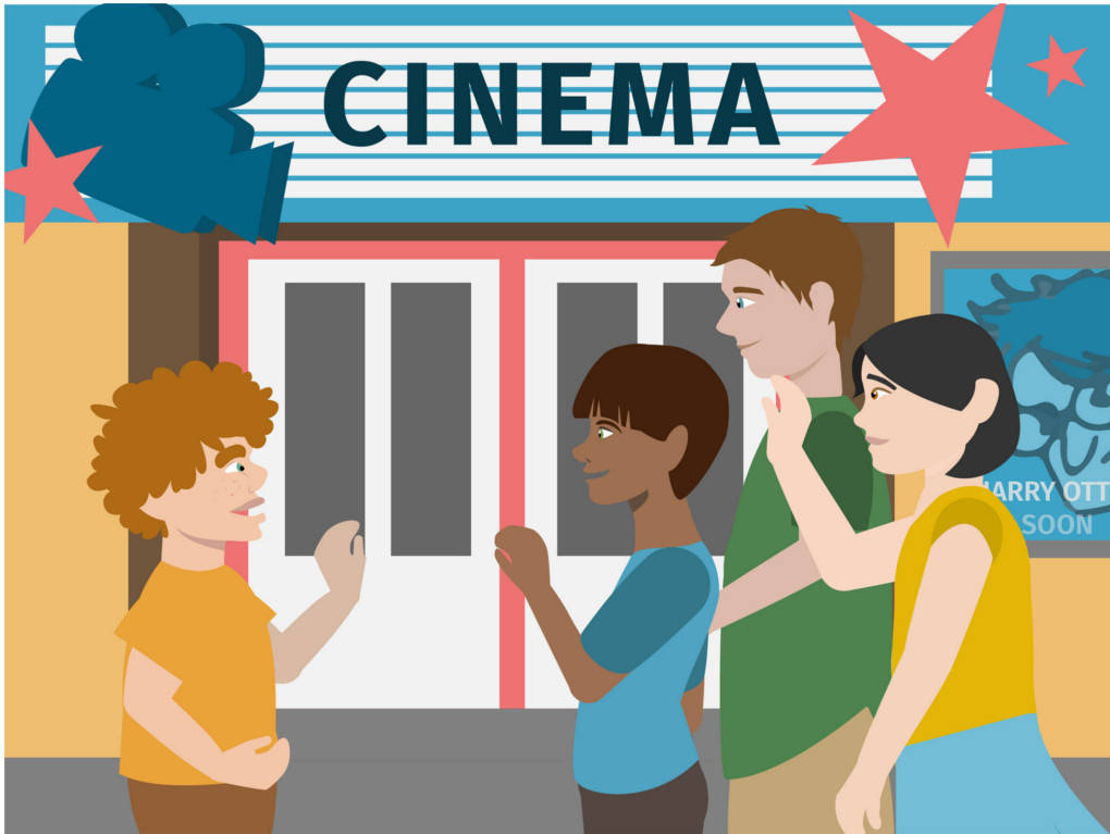 allons au cinéma