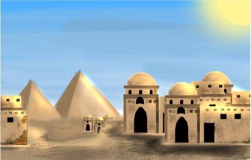 Ägypten Hintergrund