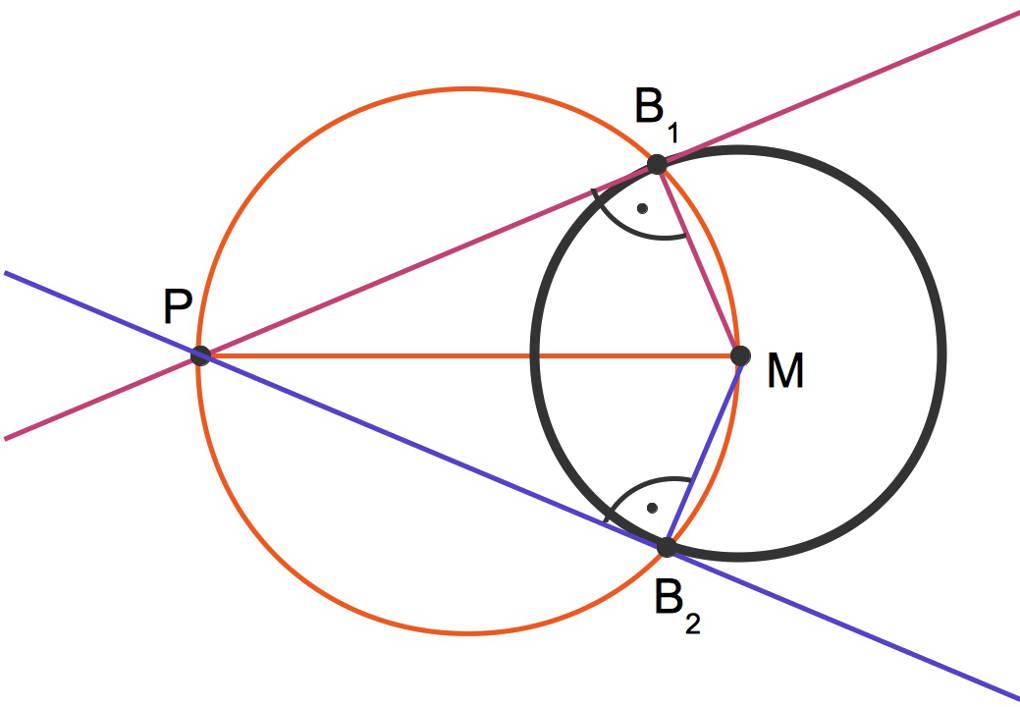 Satz des Thales ➤ Beweis und Anwendung leicht erklärt