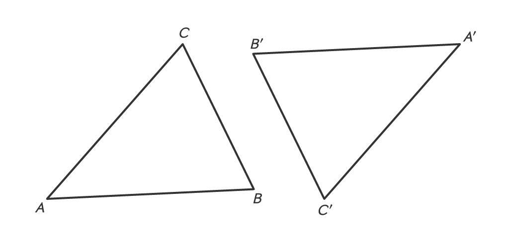 punktsymmetrische Dreiecke