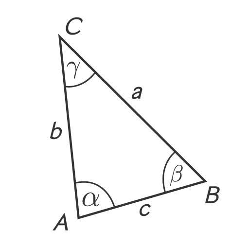 Dreieck mit WSW konstruiert