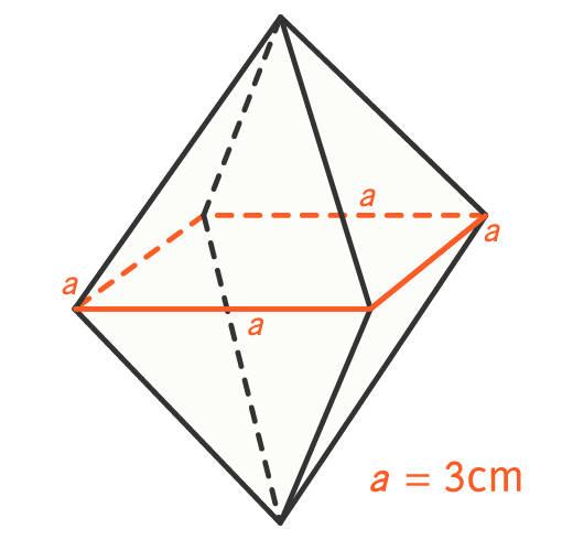 Beispiel Berechnung Oktaeder