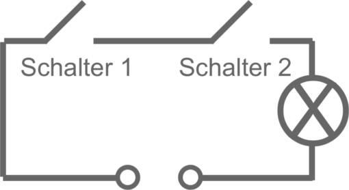 parallelschaltung 2 lampen 2 schaltern