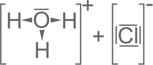 Strukturformel HCl