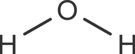 Wassermolekül