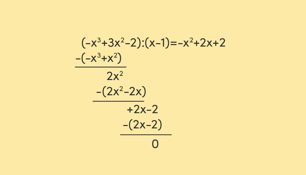 Polynomdivision Nullstellen einer kubischen Gleichung bestimmen