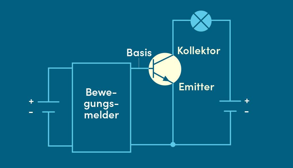 Transistor Schalter Bewegungsmelder Schaltplan