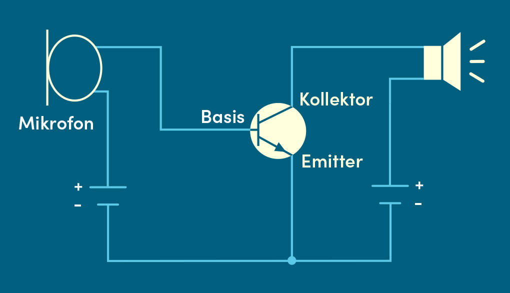 Transistor Verstärker Schaltplan