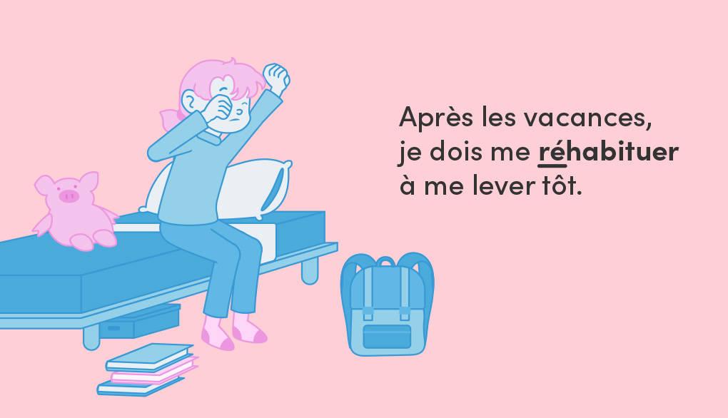 Franzoesische Verben mit Vorsilbe -re