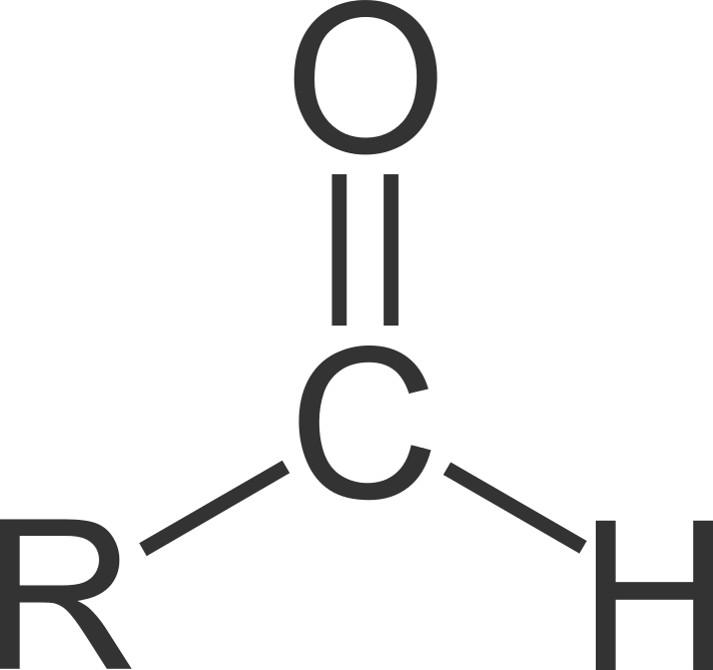 Aldehyde und Ketone: allgemeine Strukturformel Aldehyde'