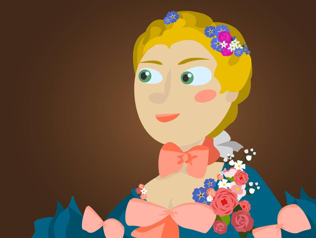 Portraet: Madame de Pompadour