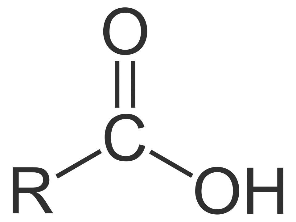 Carbonsäure Strukturformel