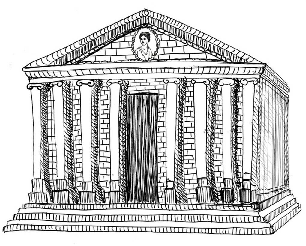 Tempel der Göttin Diana