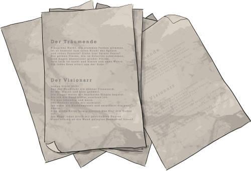Gedichtblätter