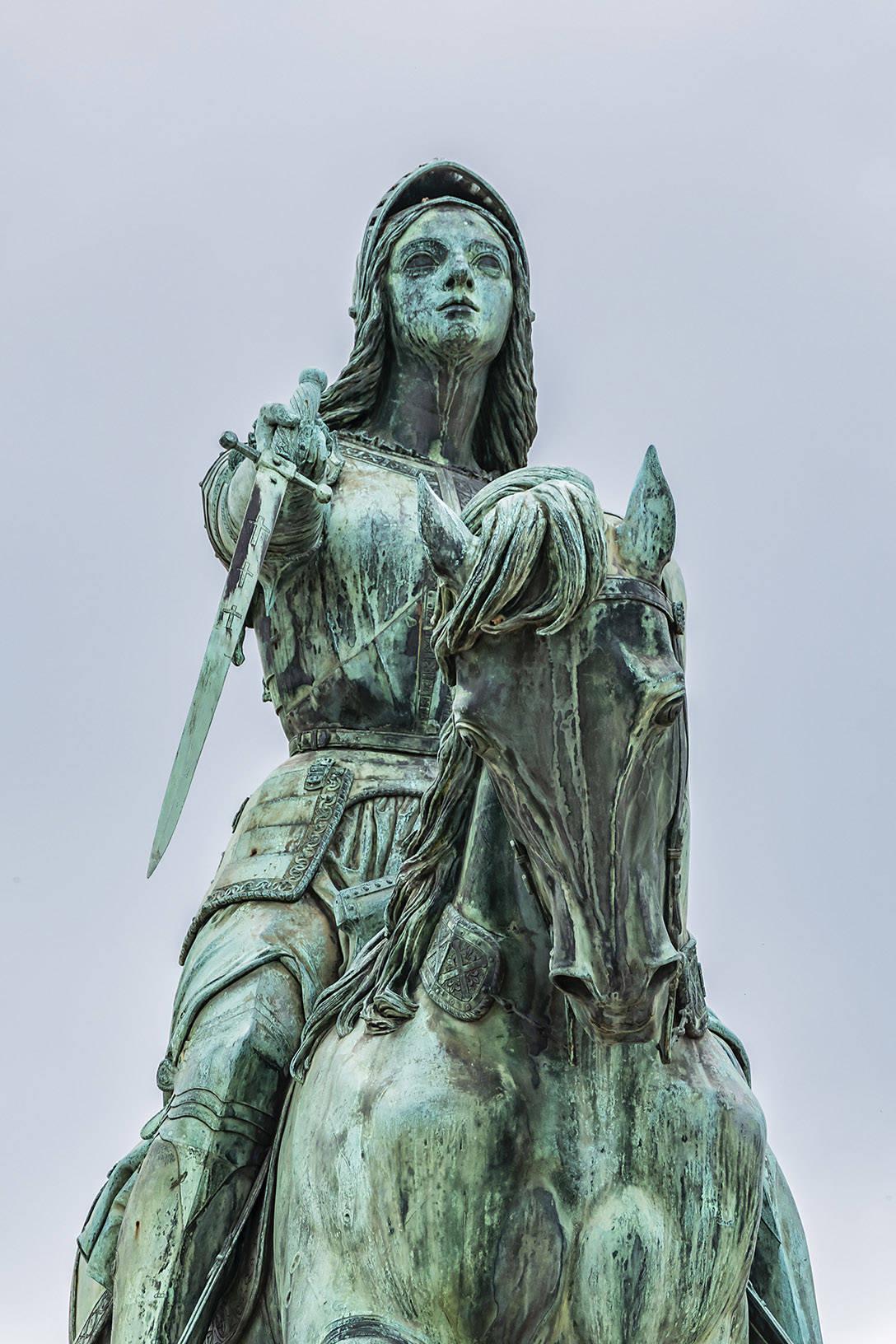 Portrait Jeanne d'Arc