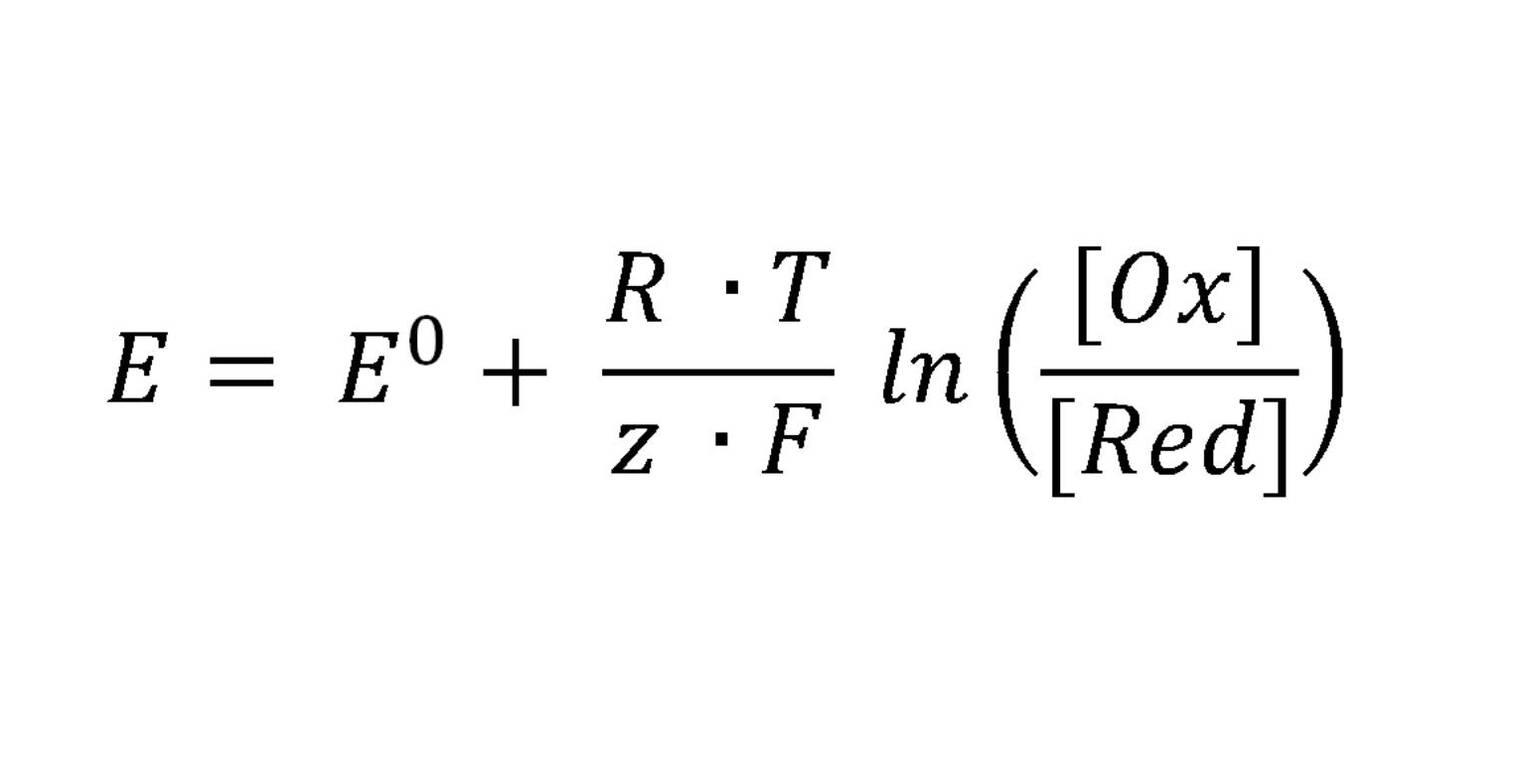 Nernst-Gleichung und die Konzentrationsabhängigkeit des ...