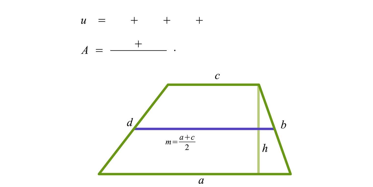 Trapez – Umfang und Flächeninhalt (Übungen & Arbeitsblätter)
