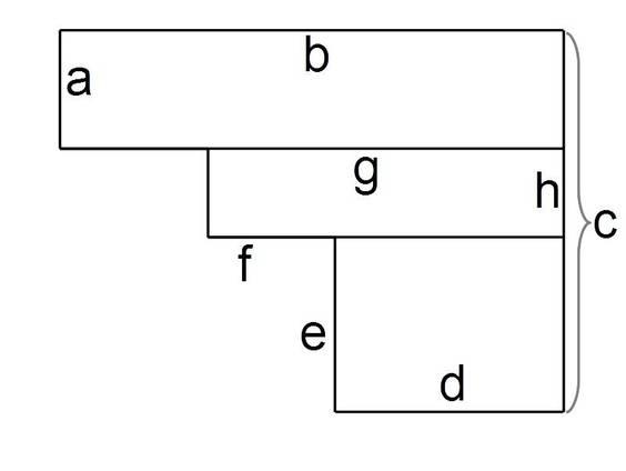 Flächeninhalt von aus Rechtecken zusammengesetzten Figuren (Übungen ...
