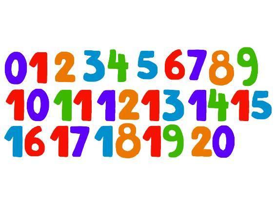 Zahlen von 1 bis 20 (Übungsvideo) (Übungen & Arbeitsblätter)