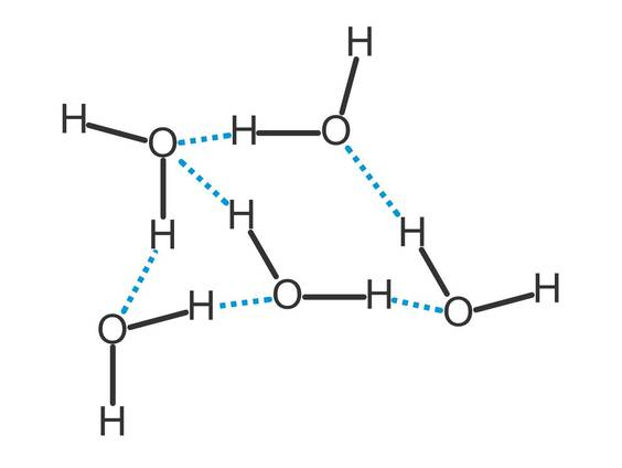 Wasser, Schwefelwasserstoff und die Wasserstoffbrückenbindung ...