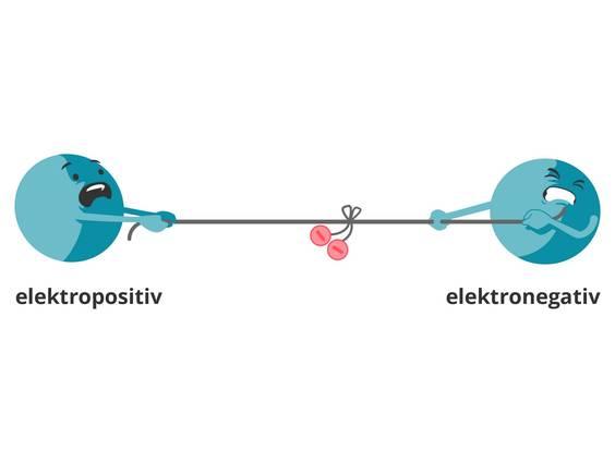 Elektronegativität – Abhängigkeit von der Stellung im Periodensystem ...