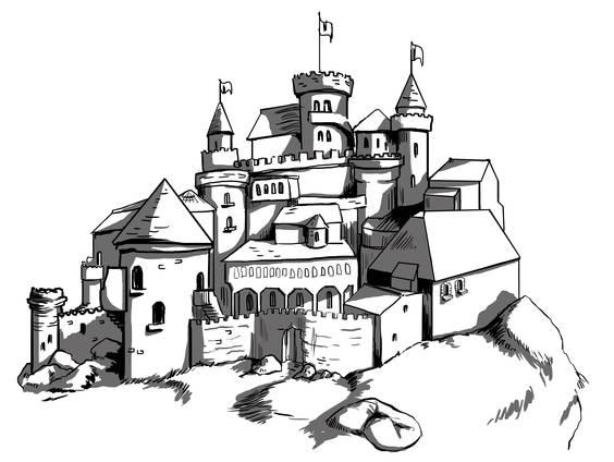 Ritter - Das Leben auf der Burg (Übungen & Arbeitsblätter)