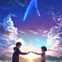miyamizu mitsuha and tachibana taki kimi no na wa drawn by unknown007  sample