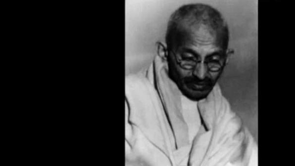 Mahatma Gandhis gewaltfreier Widerstand