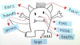 Body – Vokabeln zu den Körperteilen (Übungsvideo)