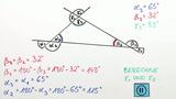 Winkel an Geradenkreuzungen berechnen
