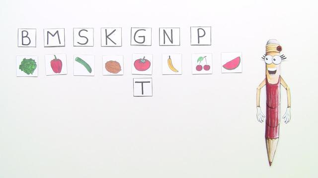 Buchstaben lesen (Übungsvideo)