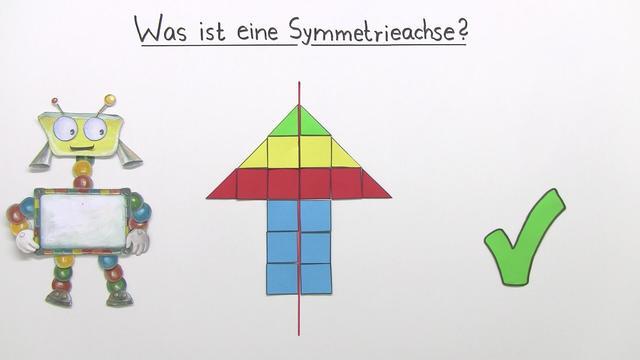 Was ist eine Symmetrieachse?