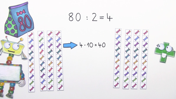 Teilen durch 10er Zahlen