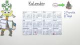 Arbeiten mit dem Kalender