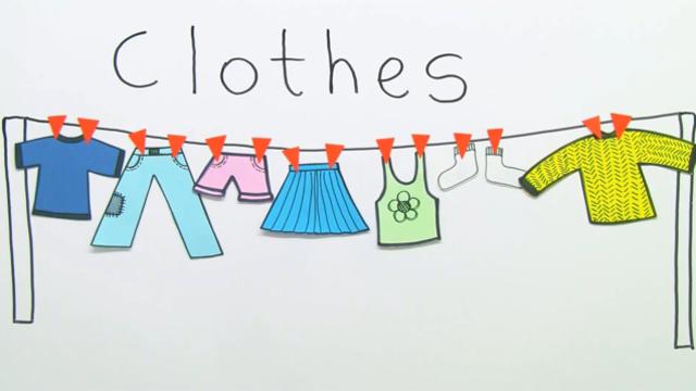 kleidung clothes bungen arbeitsbl tter. Black Bedroom Furniture Sets. Home Design Ideas