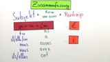 """Passé Composé – regelmäßige Verben mit """"avoir"""" (Übungsvideo)"""