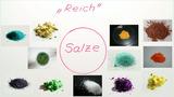 Bildung von Salzen
