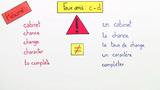 Falsche Freunde: Englisch-Französisch – Faux amis: anglais-français (2)