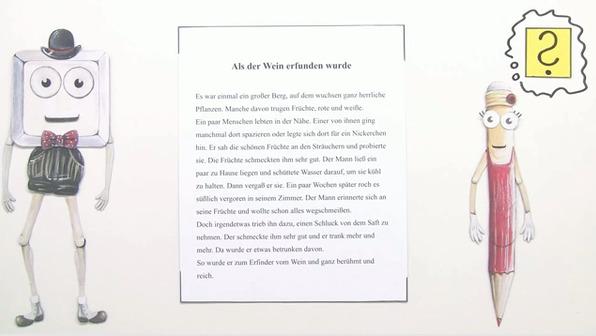 Wie finde ich wichtige Stellen im Text?