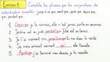 Unterordnende Konjunktionen – les conjonctions de subordination (Übungsvideo 1)