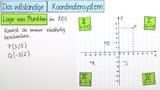 Das vollständige Koordinatensystem (2)
